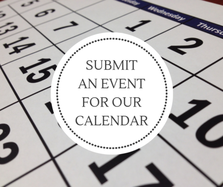 Submit and Event for Our Calendar
