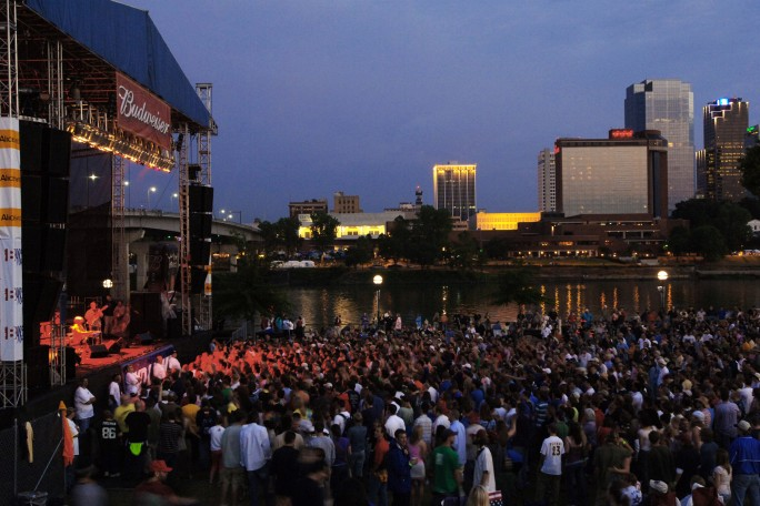 Little Rock, AR during Riverfest