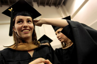 UALR Alumni Offers Cap and Gown Scholarships, Fall 2012