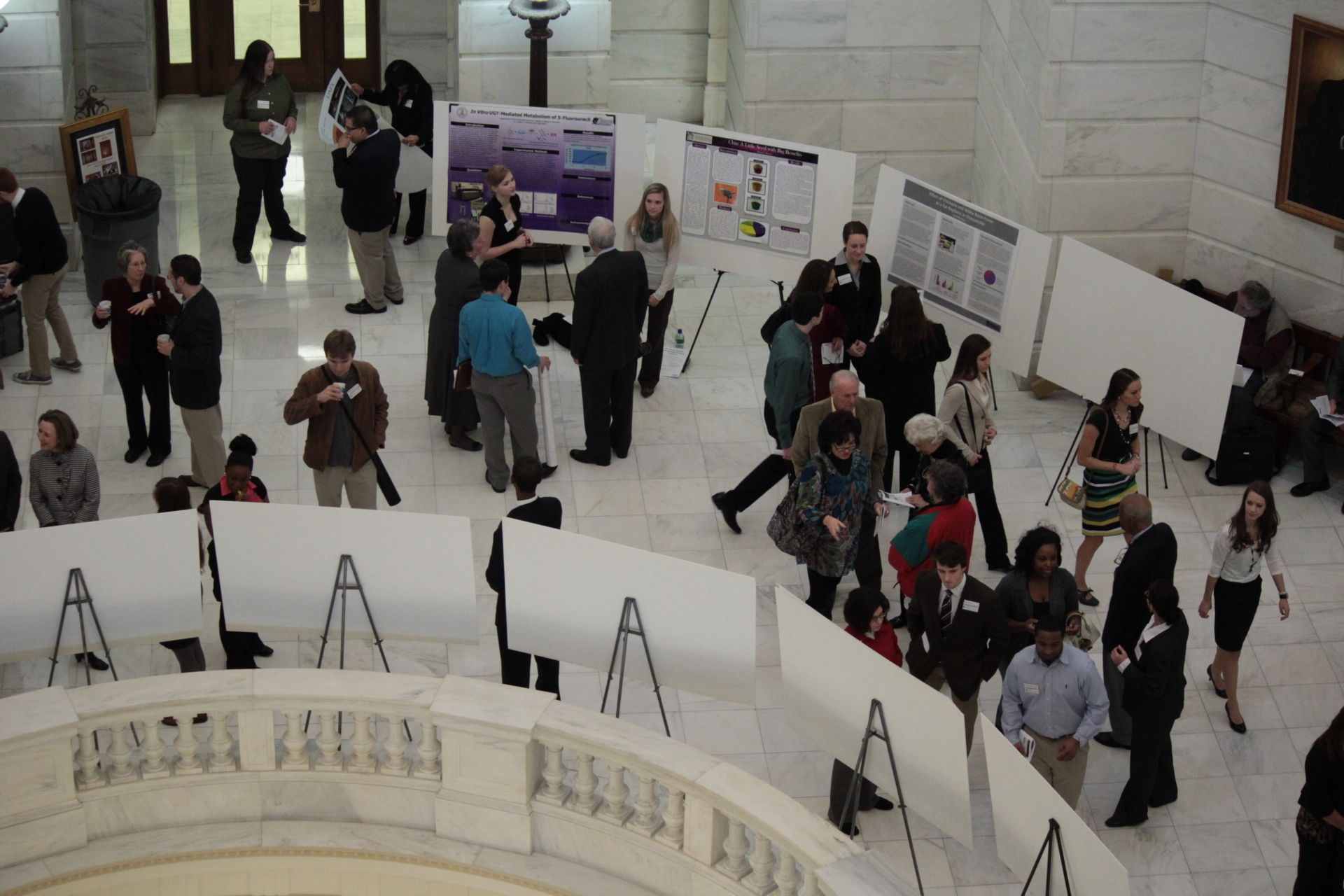 STEM Posters at the Arkansas State Capitol 2013