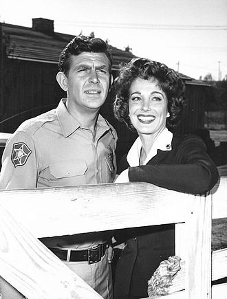Julie Adams with Andy Griffith in 1962