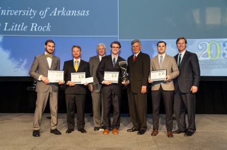 Catch-22, from the UALR College of Business, won the 2013 Donald W. Reynolds Governor's Cup