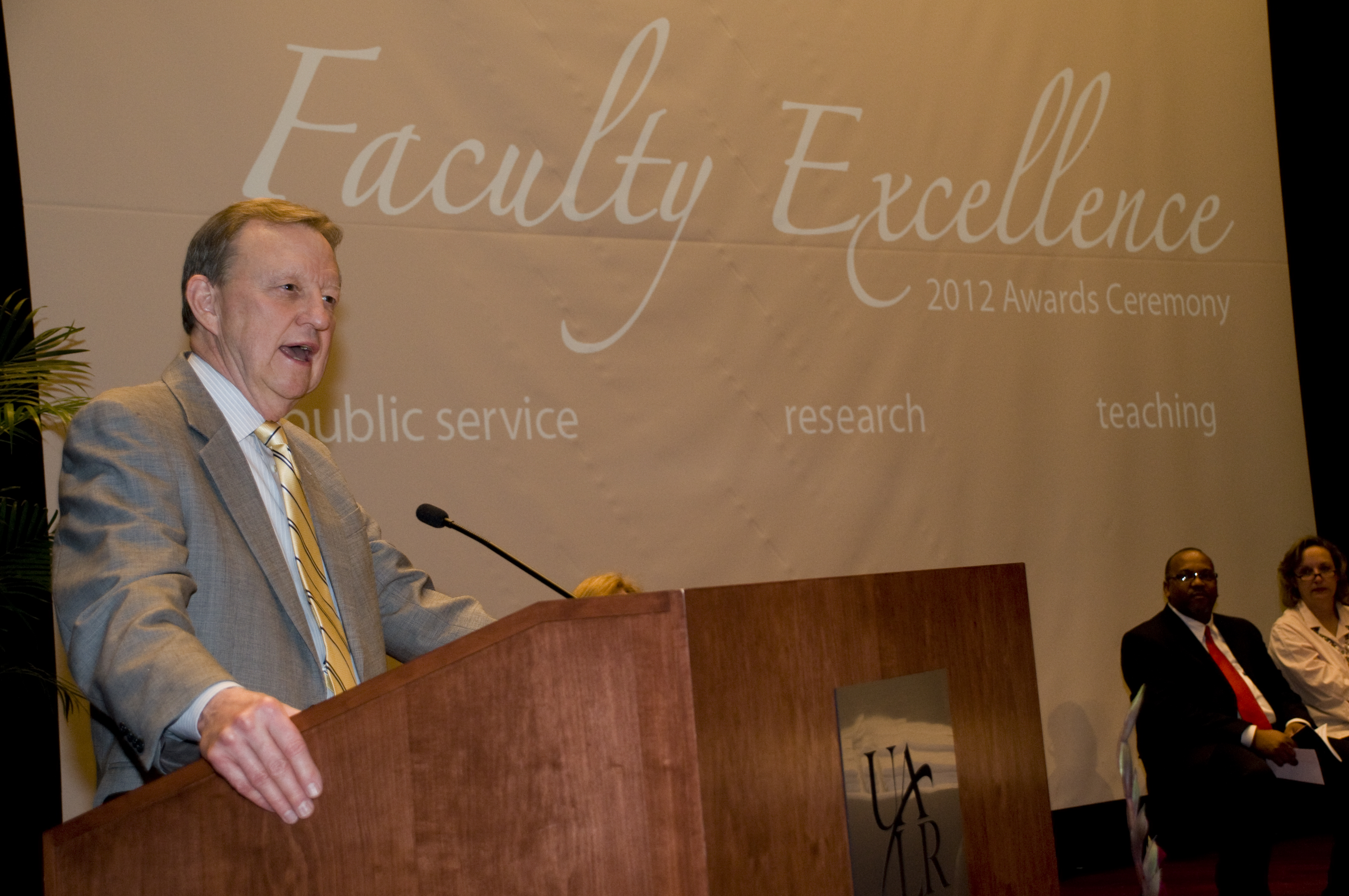 Faculty Excellence Awards at UALR
