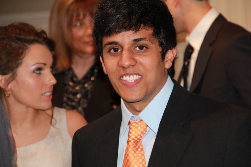 Saad Azam, 2013 recipient of the UALR College of Science Leadership Endowed Scholarship