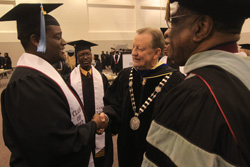 UALR Student Success Initiative at Fall 2012 Commencement