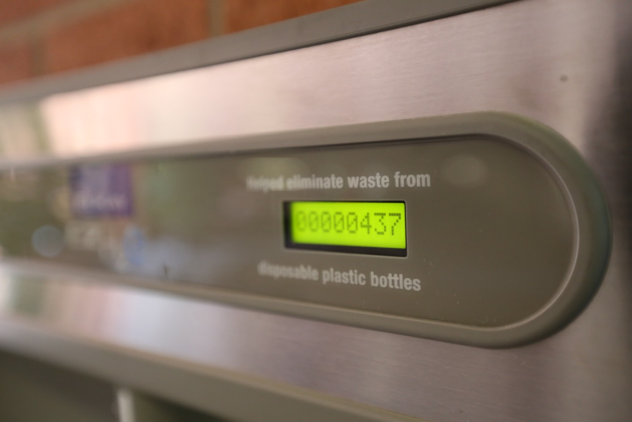 UALR Bottled Water Refill Counter