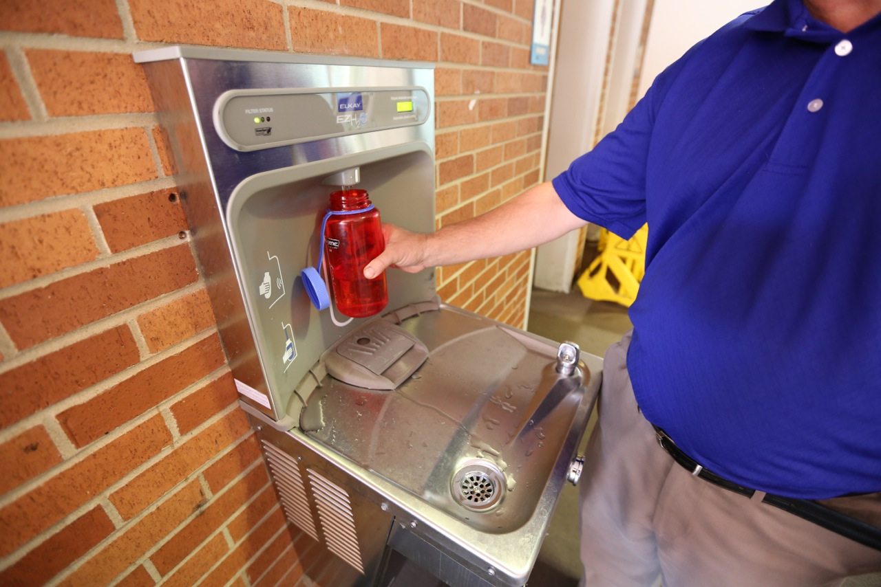 UALR Water Bottle Hydration Station