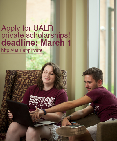 Private scholarships at UALR