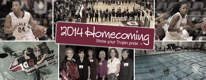 2014 UALR Homecoming - show your Trojan pride