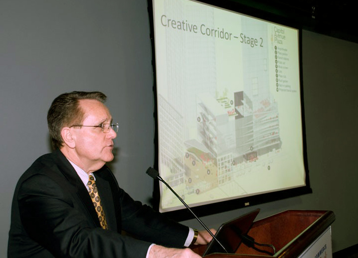 Dr. Ronald Swager presents at the 2013 Basic Economic Development Course