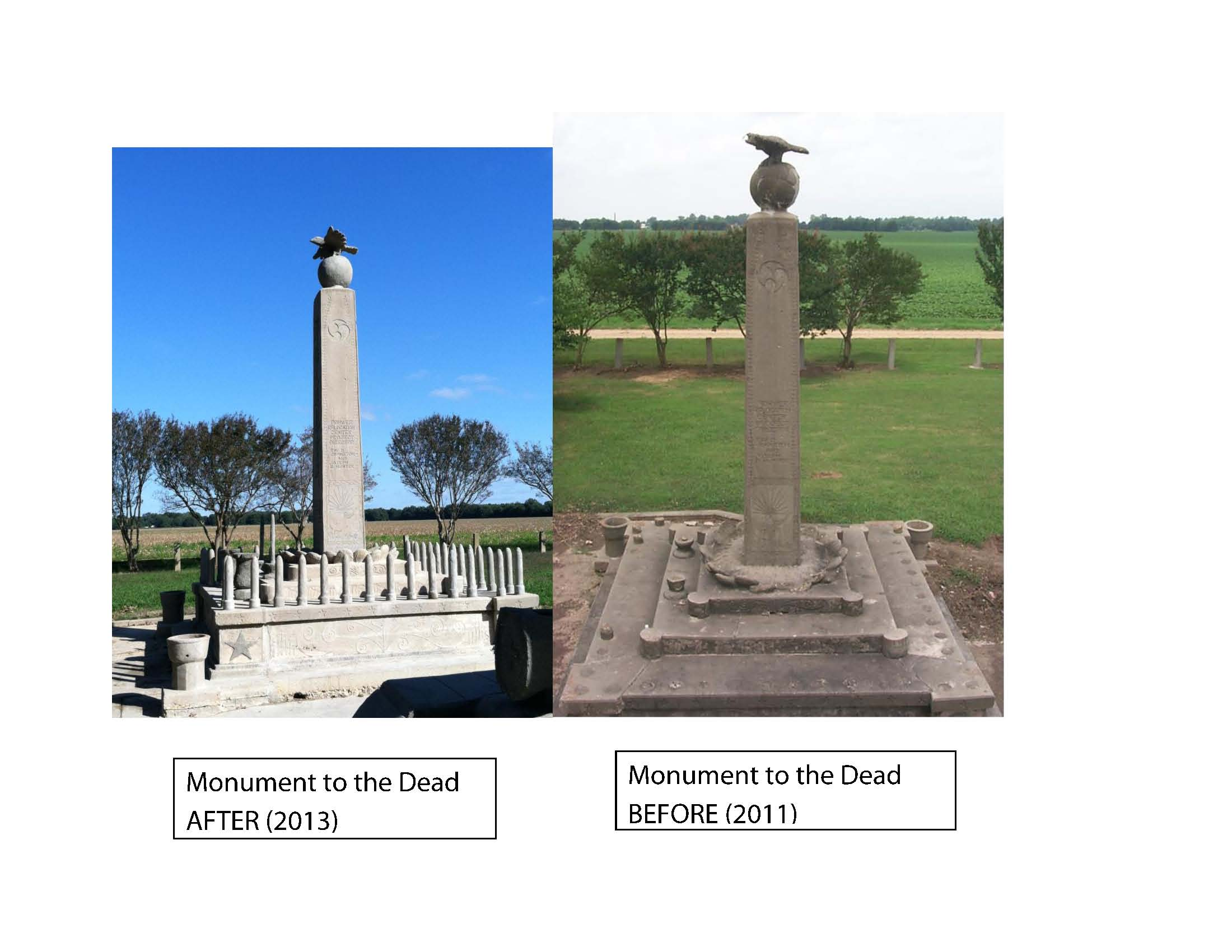 Monument to the Dead Comparison