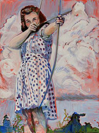 """""""Bow and Arrow"""" by Katherine Strause"""