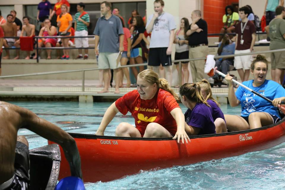 Battleship competition during UALR'S Welcome  Week 2014