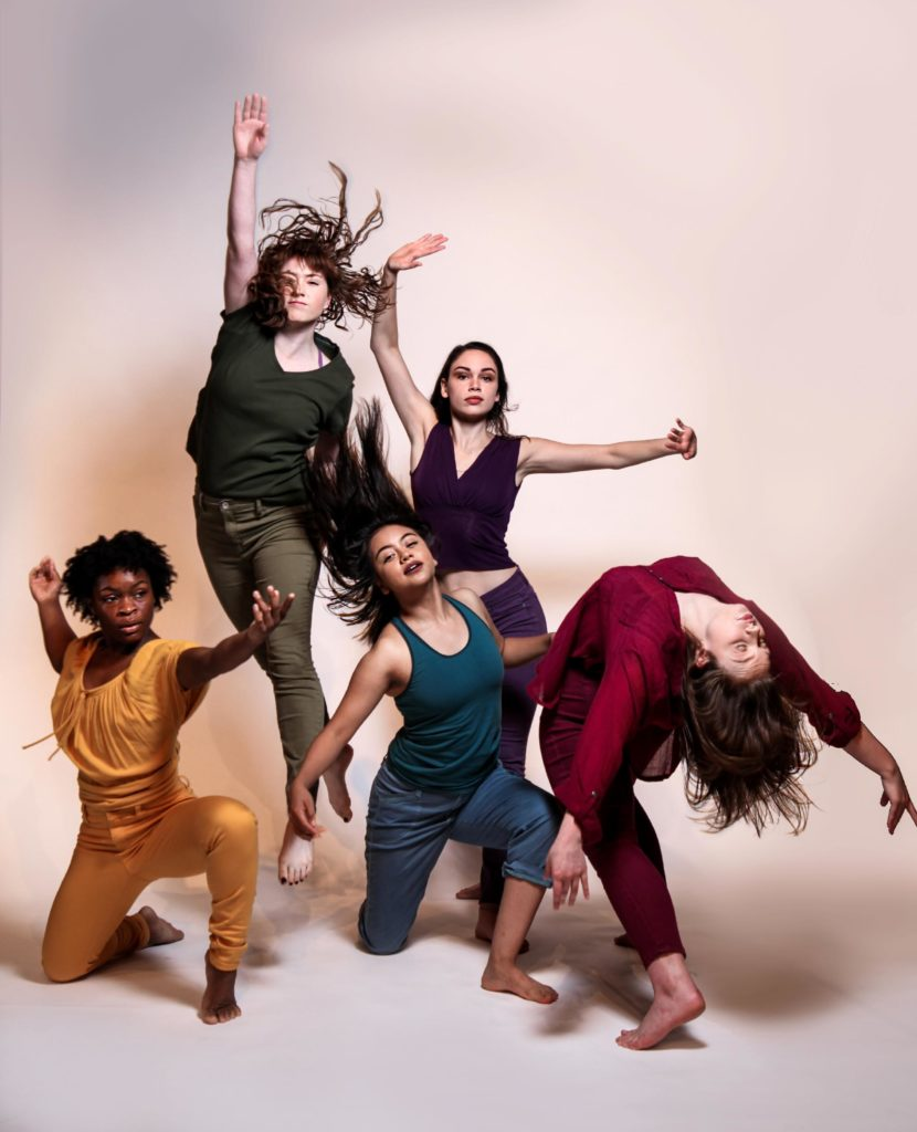 """The Department of Theatre Arts and Dance presents """"Dance Harvest 2019,"""" the work of our BFA student choreographers and the introduction of our freshman Dance majors. Publicity image courtesy Melissa Dooley Photography."""