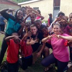 A group of people pose during James Sellers' mission trip to Ethiopia