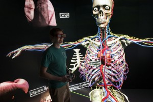 Virtual anatomy demonstrated at the EAC