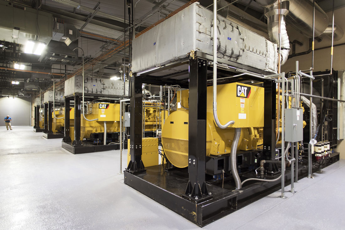 Inside UALR's new on-campus power plant