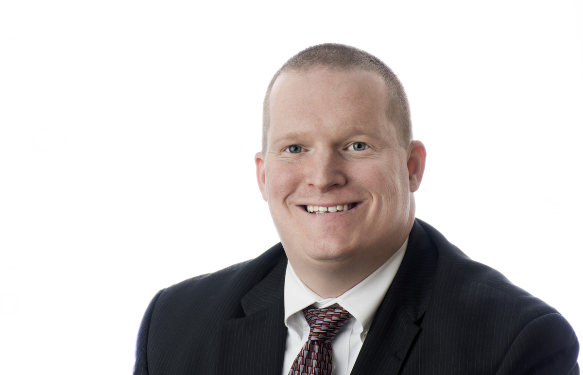 Head shot of new concurrent enrollment specialist, Nick Steele