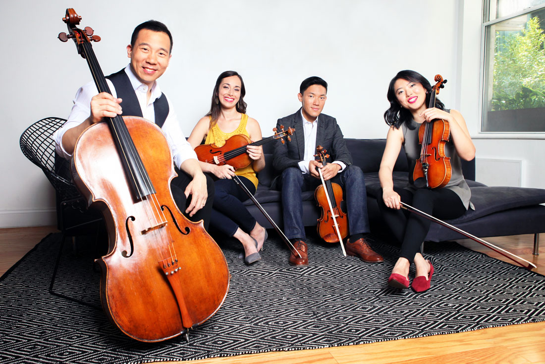 The Parker Quartet. Photo by Jamie Jung.