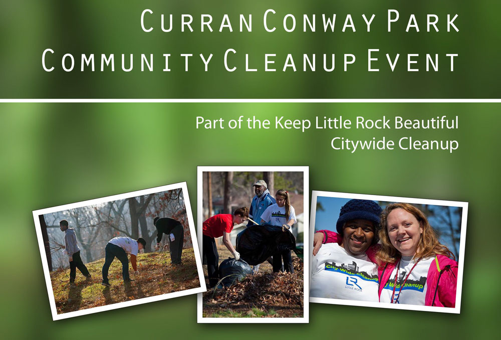 The Curran Conway Park Cleanup Day will be held March 11.