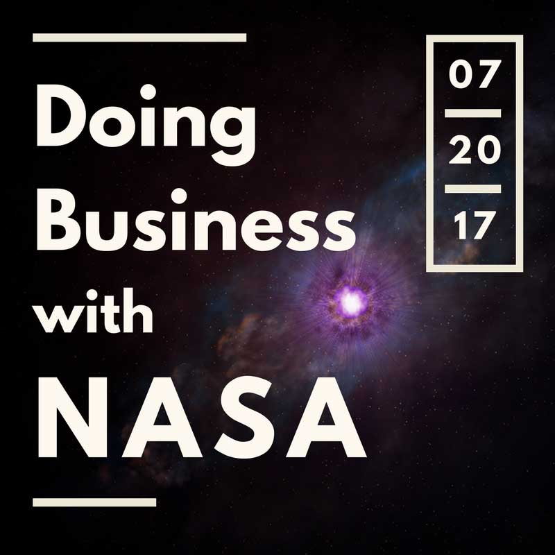 "ASBTDC's ""Doing Business with NASA"" workshop will be held Thursday, July 20, at the University of Arkansas at Little Rock."