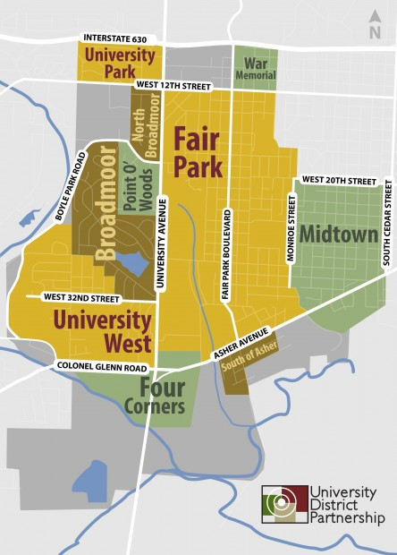 University District Map
