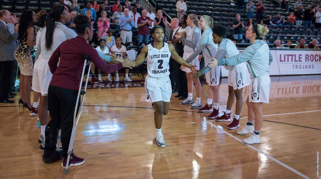 UA Little Rock women's basketball team