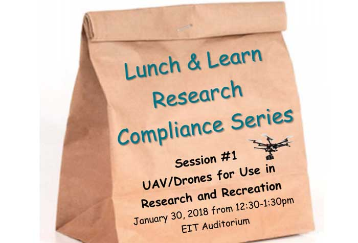 The University of Arkansas at Little Rock Graduate School will kick off their Lunch and Learn Research Series with a lecture on how drones and unmanned aerial vehicles are used in recreation and research.