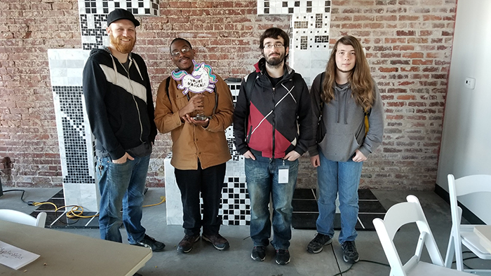 Cybersecurity student team