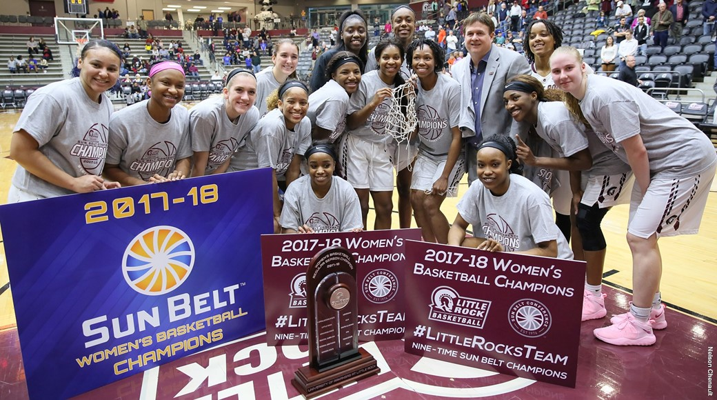 Little Rock women's basketball team wins Sun Belt ...