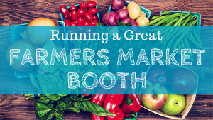 Running a Great Farmers Market Booth logo
