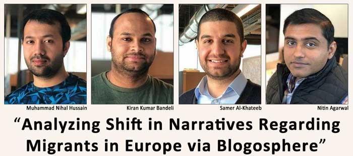 A group of researchers from the University of Arkansas at Little Rock are studying how the mass migration of refugees from Middle Eastern and North African countries into Europe has created a shift in the migrant narrative in online communication.