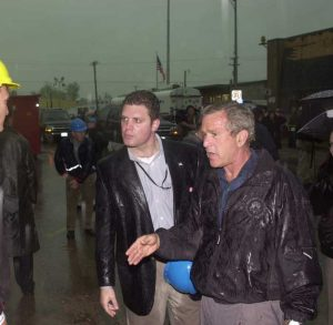 As a Special Assistant to the President of the United States, Patrick Rhode works with President George W. Bush.