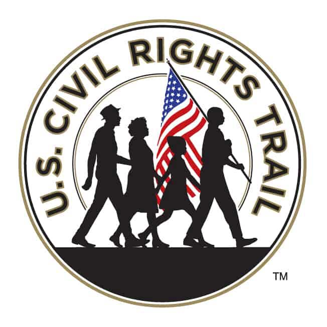 U.S. Civil Rights Trail logo