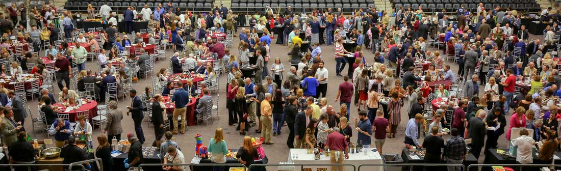 Guests enjoy the 2018 Taste of Little Rock event on April 26 at the Jack Stephens Center. Photo by Ben Krain.