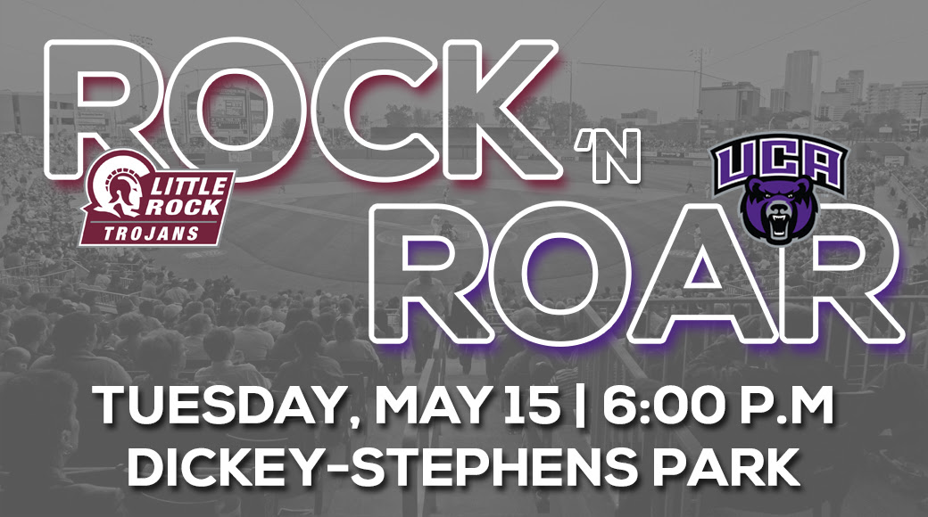 "Rock ""N"" Roar Rivalry continues May 15 at Dickey-Stephens Park."