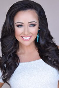 Photo of Brooke Cornelius by Miss Arkansas pageant.