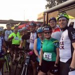 University of Arkansas at Little Rock employees and students ride the 2018 Tour de Rock to raise money for CARTI in honor of Steve McClellan's brother, Bruce.
