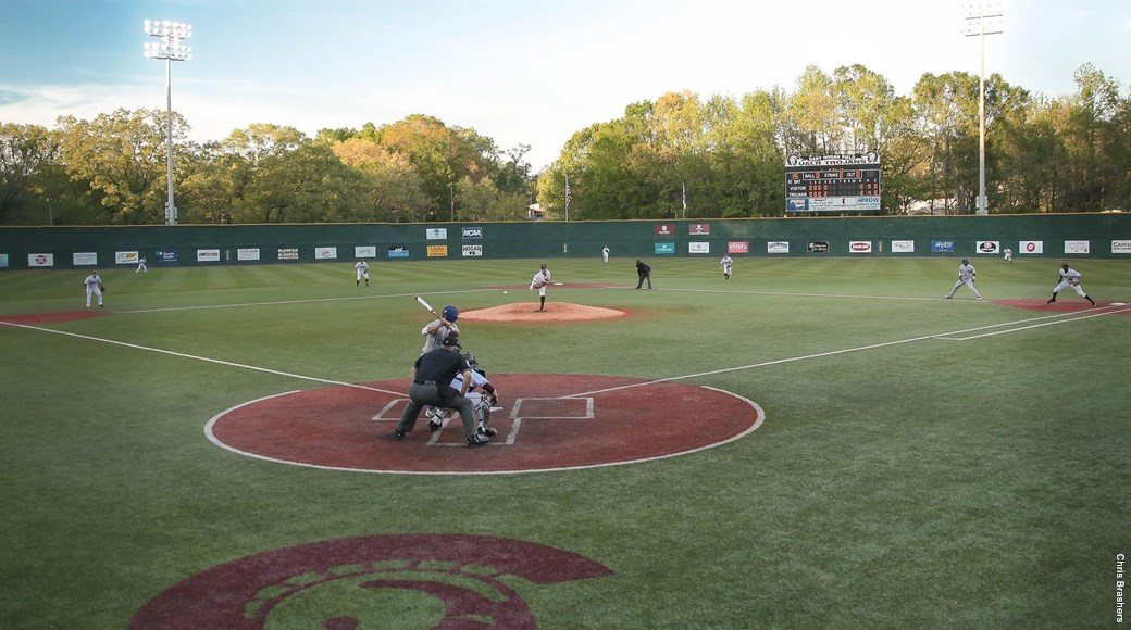 The Trojans baseball team plays at Gary Hogan Field.
