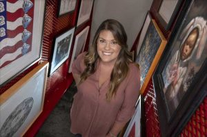 UA Little Rock student interns at Arts and Science Center for Southeast Arkansas