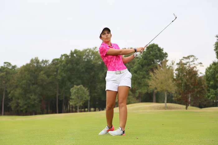 Sabrina Bonanno ends her Trojan career as a second team All-Sun Belt Conference selection. I
