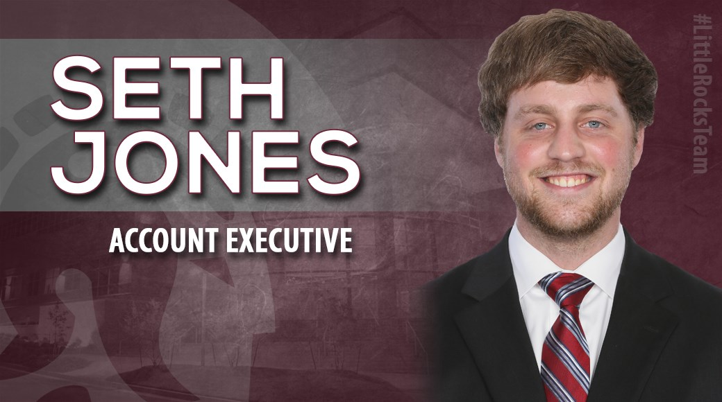 Little Rock Athletics has announced the promotion of Seth Jones as an Account Executive for Trojan Athletics.