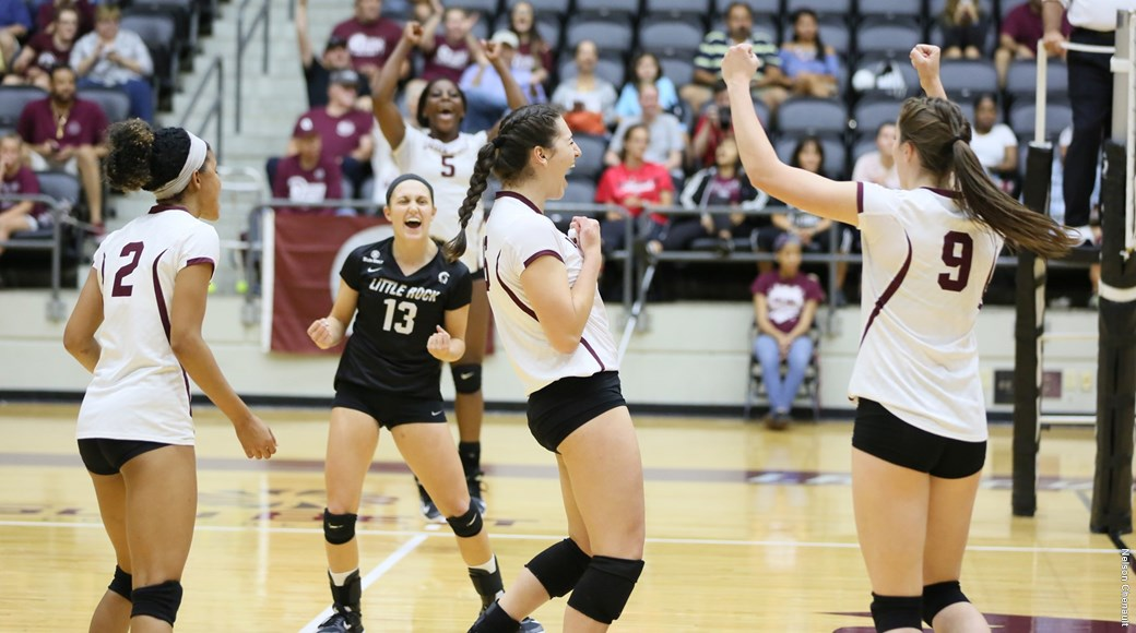 For the 13th time in program history, Little Rock volleyball has earned the American Volleyball Coaches Association's Team Academic Award for the 2017-18 academic year.