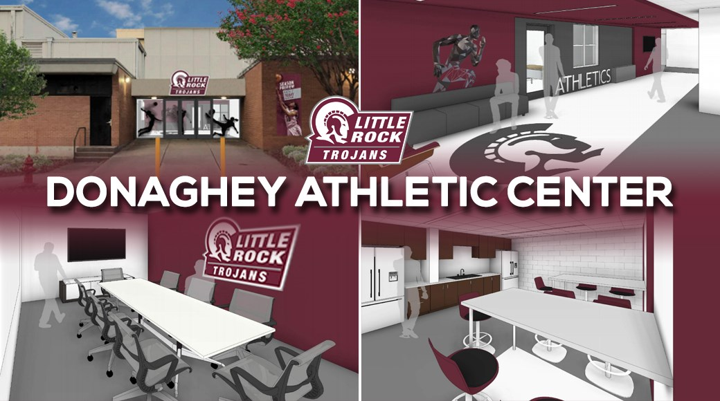 Little Rock Athletics has announced a major renovation to the Trojan Fieldhouse, one of the original athletic facilities constructed in 1969.