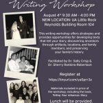 """The workshop, """"Writing Family Histories: Discovering, Developing, and Preserving Your Family History,"""" will be from 9:30 a.m. to 4 p.m. Saturday, Aug. 4, in the UA Little Rock Reynolds Business Building room 104."""
