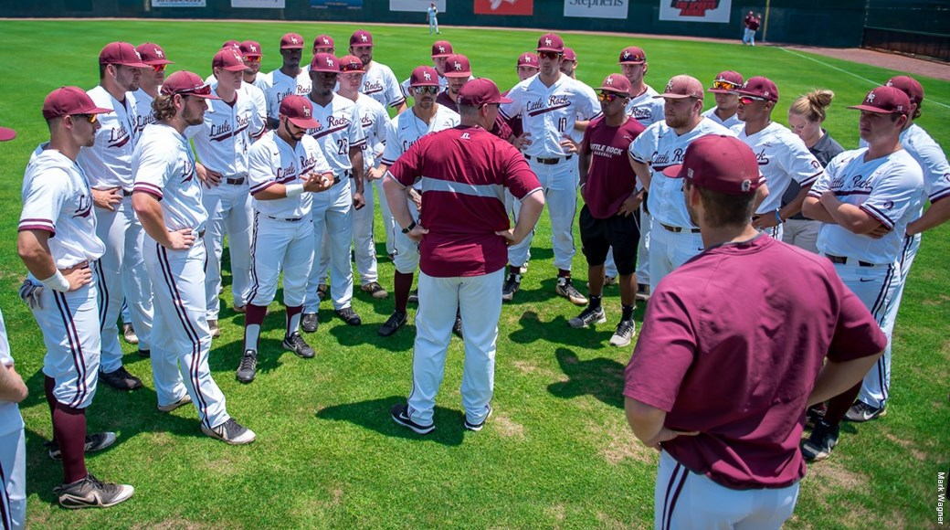 The University of Arkansas at Little Rock baseball team