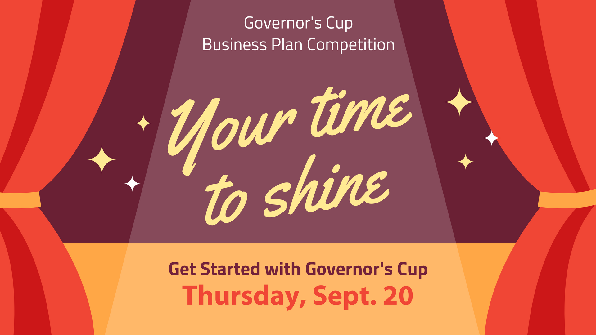"The Arkansas Small Business and Technology Development Center, based at the University of Arkansas at Little Rock, will host a free ""Get Started with Governor's Cup"" workshop from 10-11 a.m. on Thursday, Sept. 20, in Ottenheimer Library Room 535 for UA Little Rock students interested in joining the Governor's Cup competition."