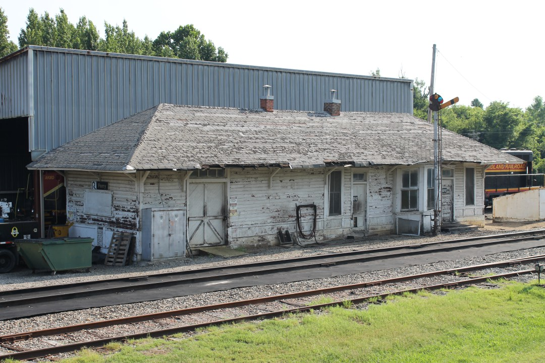 Michael Hibblen aided an effort to save the century-old Rock Island Railroad Depot in Perry, Arkansas. Photo by Michael Hibblen.
