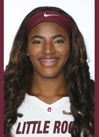 Little Rock senior Ronjanae DeGray was named Preseason Sun Belt Player of the Year, in addition to being selection the conference's First Team,.