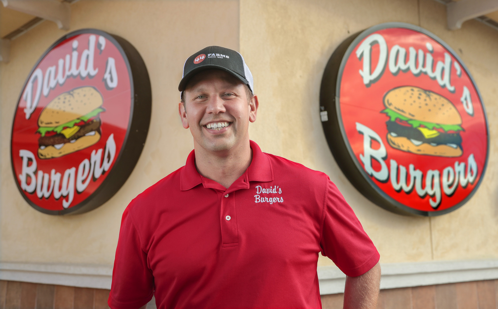 Bowen Law School graduate David Alan Bubbus created the successful hamburger restaurant chain David's Burgers. Photo by Benjamin Krain.